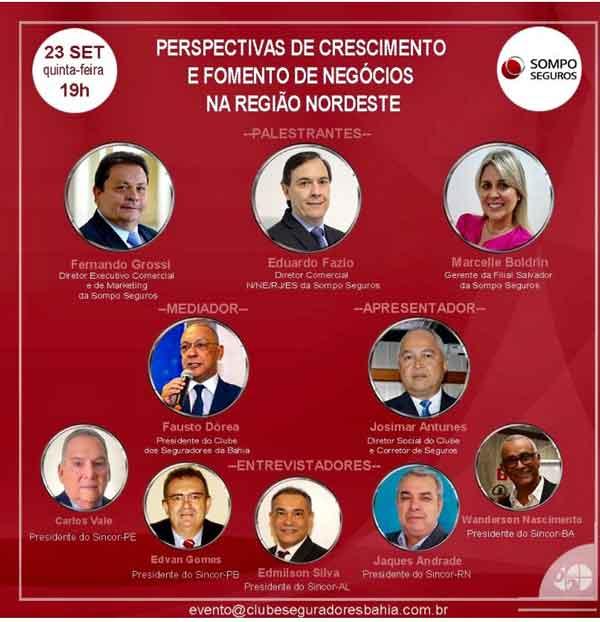 Confraria do Clube dos Seguradores da Bahia divulga os próximos eventos
