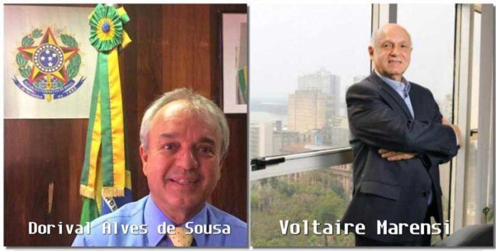 Dorival Alves de Souza e Voltaire Marensi