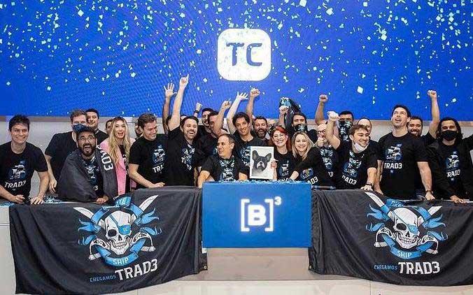 Omar Ajame fundador da TEx comemora abertura de capital do TC