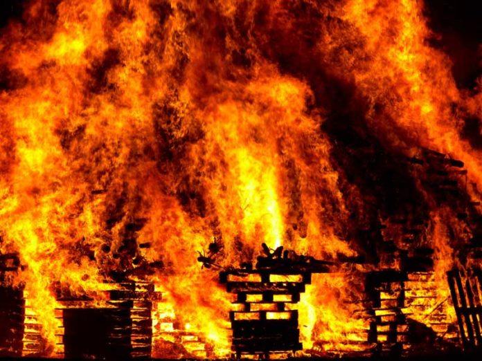 Notícias de incêndios estruturais aumentam 43,7% em 2020